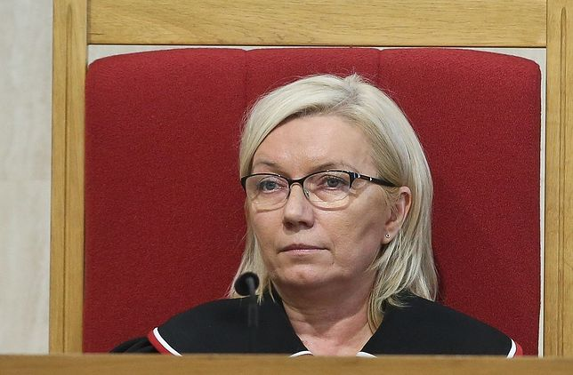 Prezes TK, sądzia Julia Przyłębska.