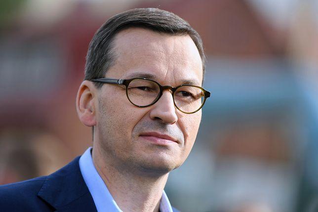 """Mateusz Morawiecki na konwencji PiS w Katowicach """"ujawnił"""" datę wyborów parlamentarnych"""