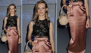 Rosyjska modelka na imprezie marki Etam