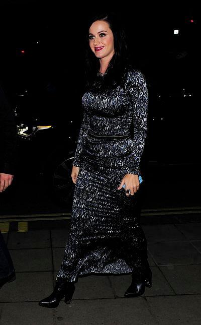 Katy Perry w niefortunnej sukience