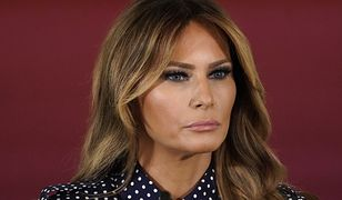Melania Trump na spotkanie z dziećmi imigrantów włożyła kontrowersyjną kurtkę