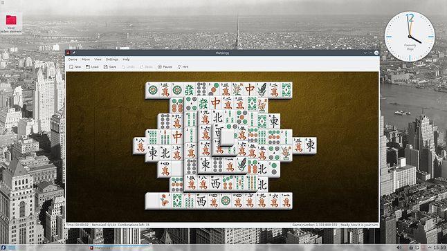 Mahjong zawsze spoko, gdy trzeba pisać post na blog ;)
