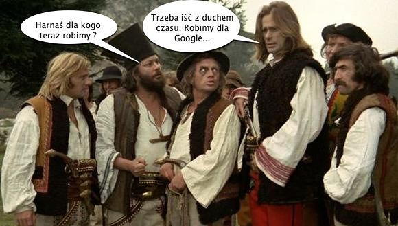 Janosik robi dla Google...