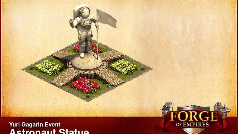 Forge of Empires upamiętnia Jurija Gagarina w specjalnym wydarzeniu #prasówka