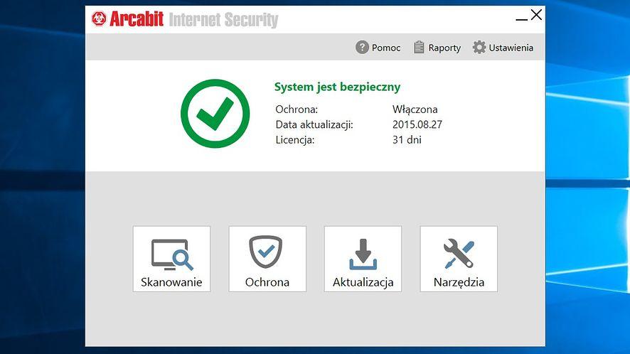 Arcabit AntiVirus i Internet Security dostępne w nowej, lepszej odsłonie