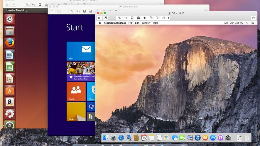 VMware Fusion 7: aplikacje z Windows Store na Maku poczują sięjak u siebie