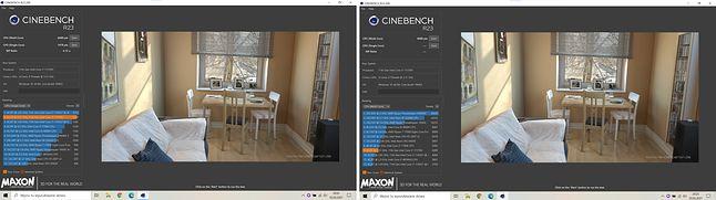 CineBench Single Core vs Multi