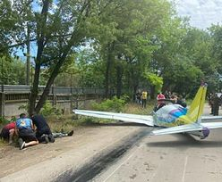 Katastrofa samolotu na Ukrainie. Dwie osoby nie żyją