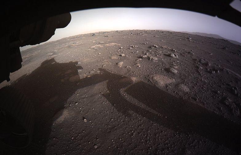 Łazik Perseverance przesłał nowe zdjęcia Marsa w kolorze