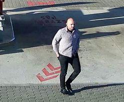 Ukradł auto za 140 tys. zł. Jest nagranie ze stacji benzynowej