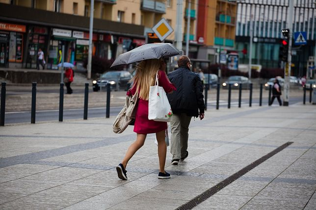 Pogoda w Polsce. Deszcz i ochłodzenie