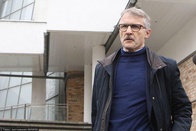 Przewodniczący KRS Leszek Mazur.