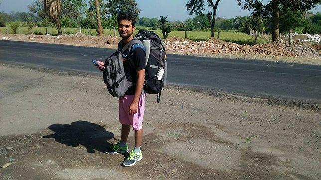 Odwiedził trzy kraje, a w podróży spędził 225 dni. Twierdzi, że nie wydał nawet grosza