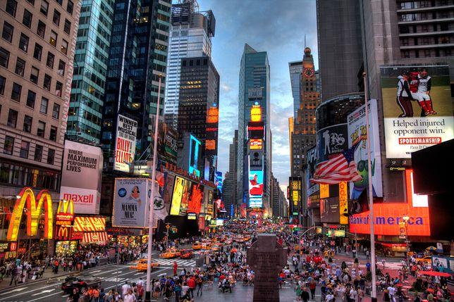 Centrum Nowego Jorku tętni życiem