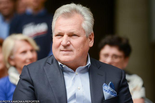 Wybory parlamentarne 2019. Aleksander Kwaśniewski apeluje do Grzegorza Schetyny