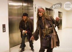 Johnny Depp zrobił niespodziankę chorym dzieciom