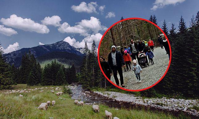 Turyści odwiedzają Tatry w pandemię koronawirusa