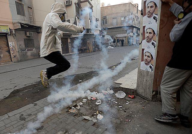 Ostre starcia z policją po antyrządowych demonstracjach