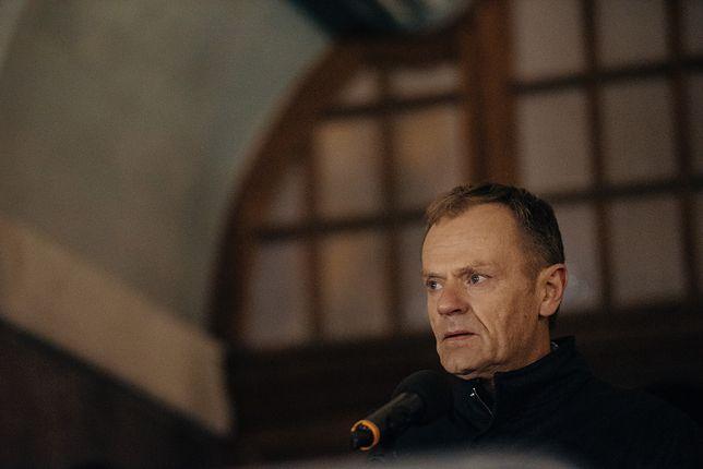 Donald Tusk przyjechał do Gdańska, by oddać hołd Pawłowi Adamowiczowi