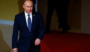 Prezydent Rosji Władimir Putin podczas szczytu G20 w Hamburgu