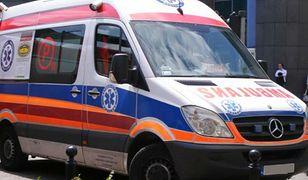 Na miejsce skierowano ekipy dwóch karetek pogotowia ratunkowego