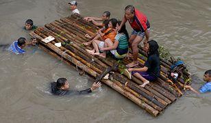 Manila pod wodą