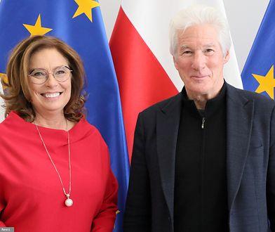 Gwiazda Hollywood w polskim Sejmie. Richard Gere: Mamy podobne problemy
