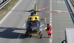 Tragiczny wypadek na S8. Motocyklisty nie udało się uratować