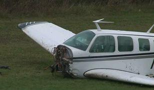 Katastrofa samolotu w USA. Na pokładzie były cztery osoby