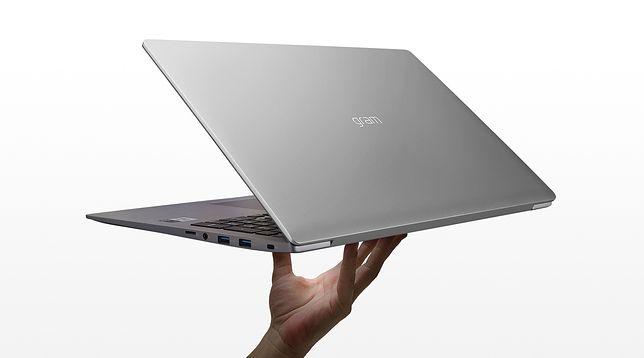 14-calowy laptop waży 999 gramów