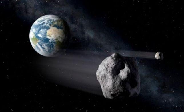 Dwie asteroidy miną dzisiaj Ziemię