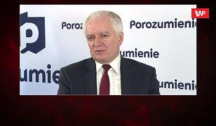 Jarosław Gowin marszłakiem Sejmu? Jest reakcja
