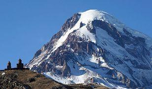 Kazbek na Kaukazie