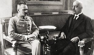 Piłsudski i Narutowicz w 1922