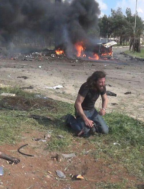 Wojna, jakiej nie pokażą w telewizji. To zdjęcie złamało serce tysiącom ludzi