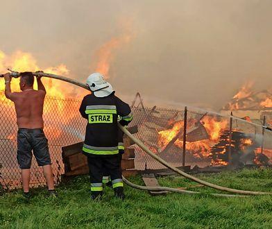 Nowa Biała. Takiego pożaru nie było od 40 lat. Eksperci są w szoku