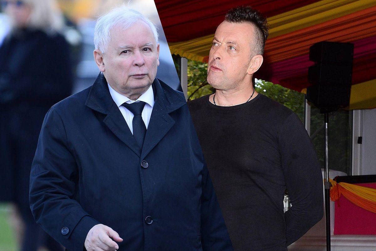 Tymon Tymański ostro o prezesie PiS
