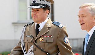 Gen. Marian Janicki podczas święta BOR w 2011 r.
