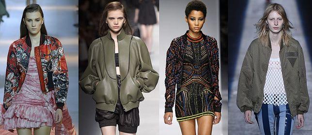 Trendy wiosna-lato 2016: Kurtka typu bomber jacket