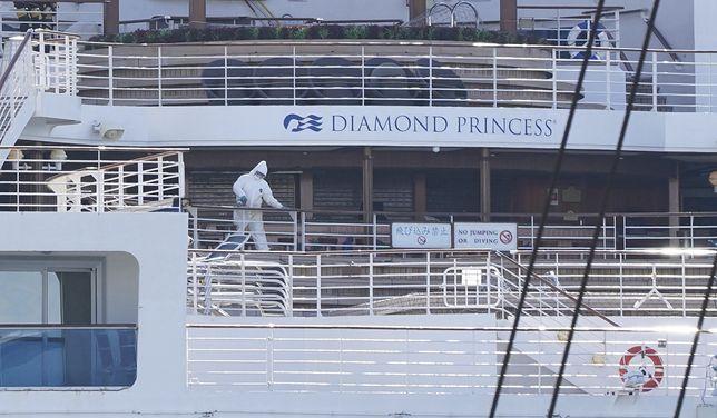 Koronawirus z Chin. Koniec kwarantanny na Diamond Princess.