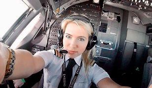 Najpopularniejsza na świecie kobieta za sterami samolotu. Ma dziesiątki tysięcy fanów