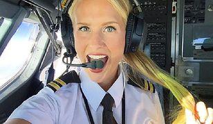 """25-latka jest prawdziwą """"miss lotnictwa"""". Jej profil na Instagramie obserwuje 400 tys. osób"""