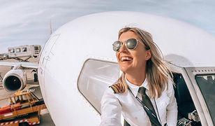 Najpiękniejsza pilotka na świecie. Na Instagramie obserwuje ją pół miliona osób
