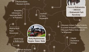 Największe hity polskiej turystyki
