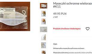 Poczta Polska uruchamia sprzedaż maseczek.