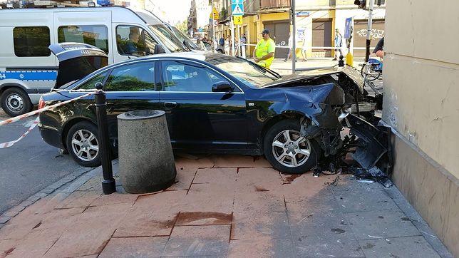 Jedna z sióstr G. spowodowała wypadek w stolicy