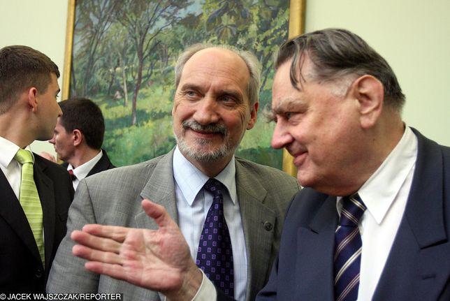 Antoni Macierewicz i Jan Olszewski