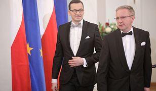 Rekonstrukcja rządu. Mateusz Morawiecki i Krzysztof Szczerski