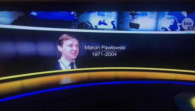 """Wspomnienie Marcina Pawłowskiego na koniec wydania """"Faktów"""" TVN z dnia 20 listopada 2020 roku"""