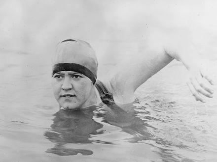 Gertrude Ederle – pierwsza kobieta, która przepłynęła kanał La Manche